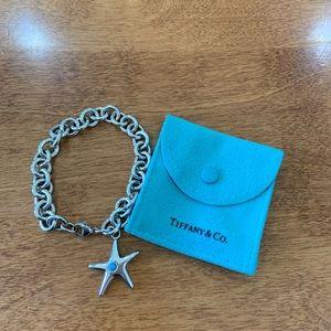 Tiffany & Co. Sterling Silver Starfish Bracelet